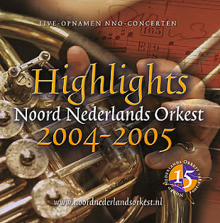 Design CD booklet for sympony orchestra Noord Nederlands Orkest